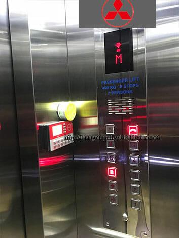ký hiệu bên trong cabin thang máy